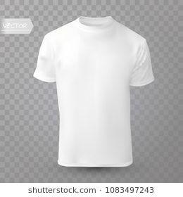 Shirt Mock Up On Transparent Background T Shirt Template White Version Front Design T Shirt Transparent Background Shirt Template