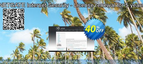 [42% OFF] NETGATE Internet Security - License renewal for 5 years Coupon on Halloween promotions, October 2019
