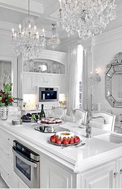 Gorgeous And Glamorous Kitchen Design Kitchenideas Kitchenremodel Kitchnedecor Kitche Kitchen Design Pictures Luxury Kitchen Design Interior Design Career