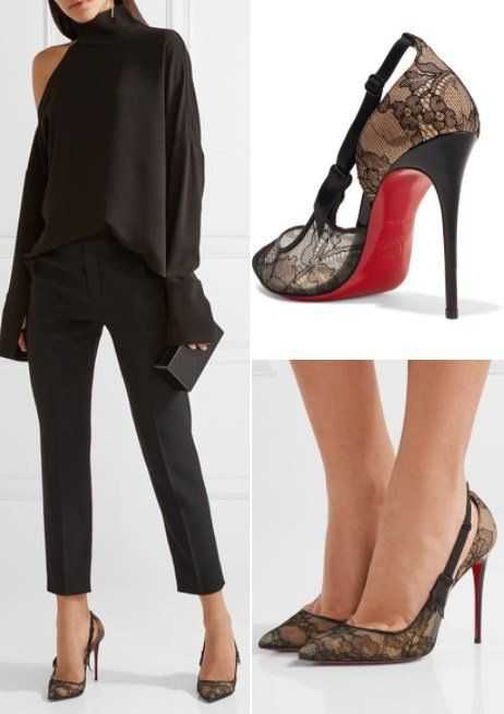 meet c8aca 8ba50 Rocking the Red Soles With These 9 Classy Christian ...