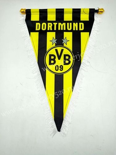 Borussia Dortumund Yellow Triangle Team Flag Dortmund Borussia Dortmund Teams