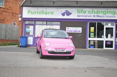 Fiat 500  Pink  Fiat 500 Fiat 500 pink and Wheels