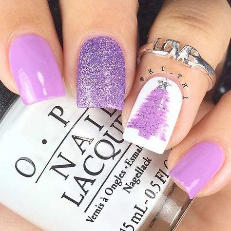 nails Popular Ideas of Christmas...