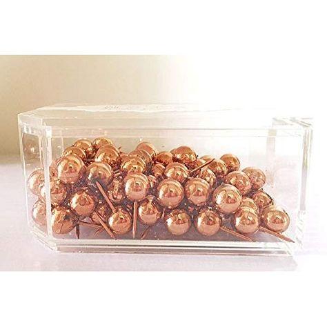 100pcs Thumb Tack Push Pin Round Head Pushpin Message Board Home Office Supplies