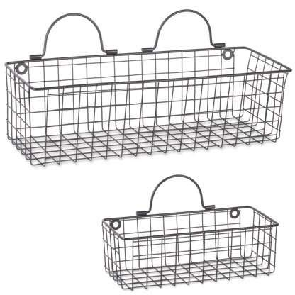 Pin On Wire Basket Shelves