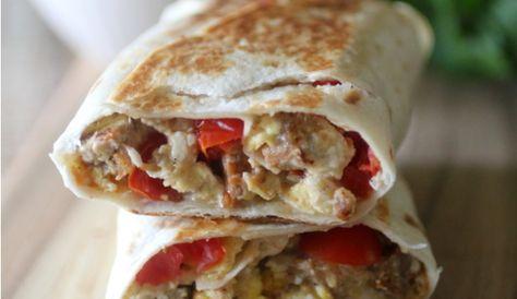 Freezer Breakfast Burritos 5 SP