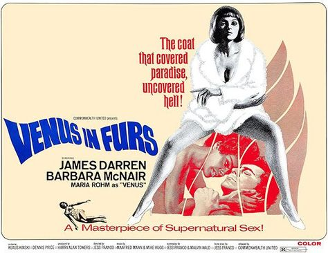 Venus In Furs 1969 Movie Poster Movie Posters 1969 Movie