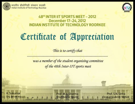 Certificate Design Certificate Design Pinterest Certificate - certification of appreciation wording