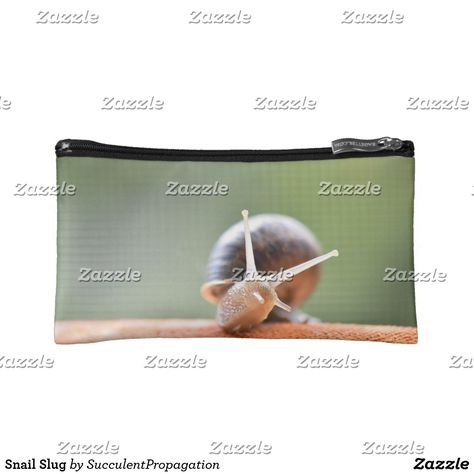 Garden Snail Slug Makeup Bag Bag Pinterest Snail