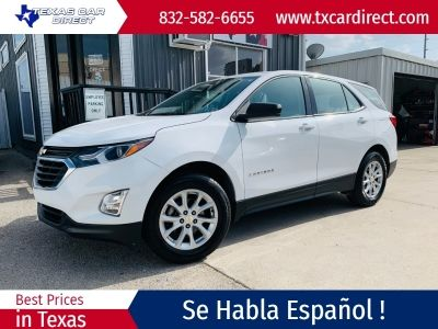 2018 Chevrolet Equinox Awd 4dr Ls W 1ls White Suv 4 Doors 12995 To View More Details Go To Https Www Txcardirect In 2020 White Suv Chevrolet Equinox Suv