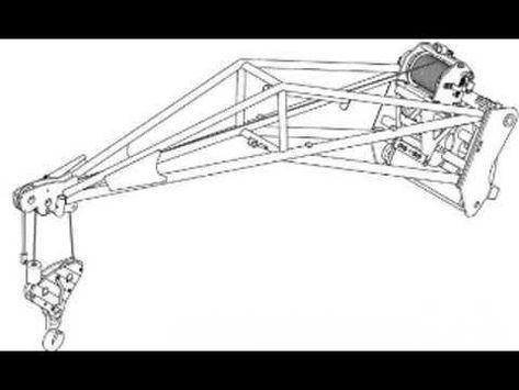 Bobcat 1000 kg Hoisting Winch with Jib Workshop Service