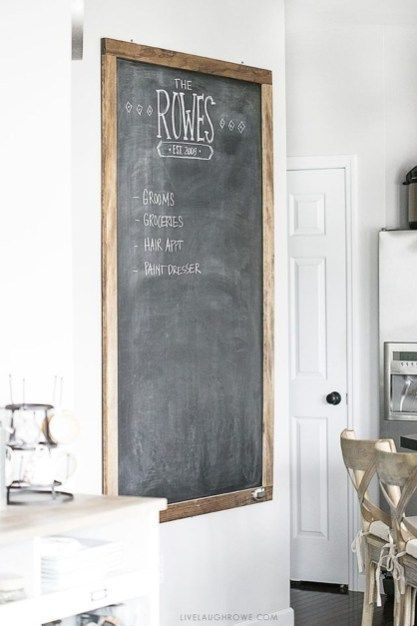 20 Unique Chalkboard Kitchen Decor Ideas Chalkboard Decor Ideas Kitchen Unique Kuchen Tafel Kreidetafel Wanddekoration Fur Kuche