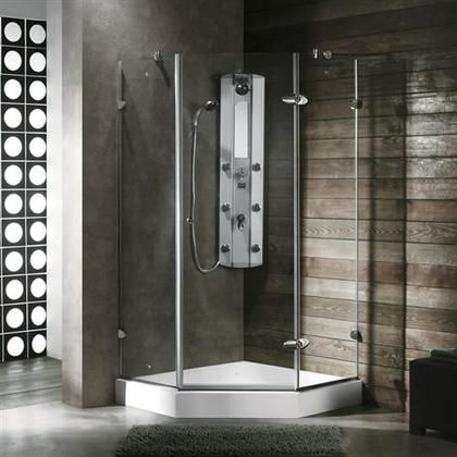 Vg6061chcl36w 36 X 36 Shower Enclosure With Frameless Neo Angle
