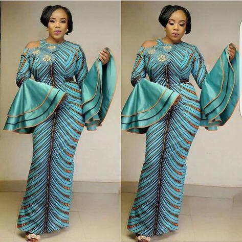 Green African DressAfrican print dressAnkara dressAfrican | Etsy