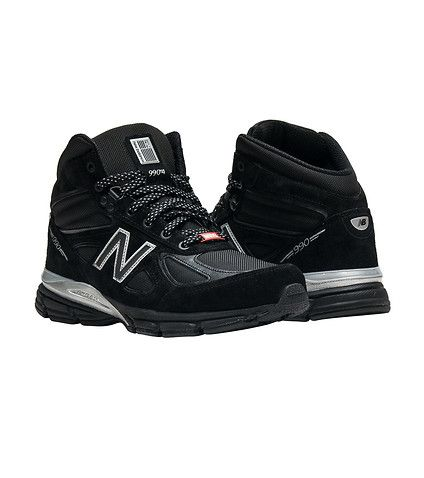 newest 3054a 7462b New Balance MENS 990 BLACK PANTHER Black | Shoe Love | New ...