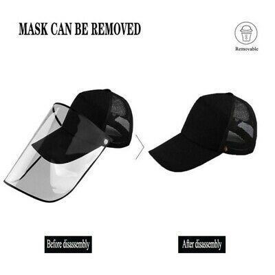Mascara Protector Anti Salpicaduras Sombrero Reutilizado Lavable Anti Uv Cubierta Pico Ajustable Ebay Washable Hats Cover