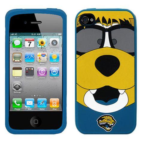 Jacksonville Jaguars Jaxson de Ville Mascot Silicone iPhone 4 Cover, Sale: $11.99
