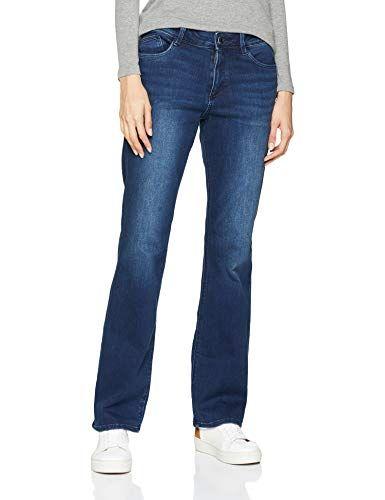TOM TAILOR für Frauen Jeanshosen Damen Straight Jeans – Alexa