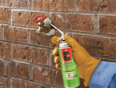 exterior spray foam sealant. #tip: seal and insulate your outdoor faucet with great stuff® insulating foam sealants to help keep air or insects from entering home. | pinterest exterior spray sealant