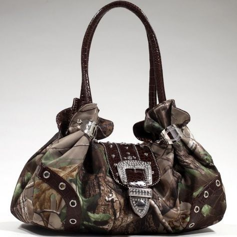 Realtree APG Camouflage Shoulder Bag Rhinestone Bling Brown Hobo Tote Bag by Realtree, http://www.amazon.com/dp/B00E7T7FTE/ref=cm_sw_r_pi_dp_3qg-rb054NWW0