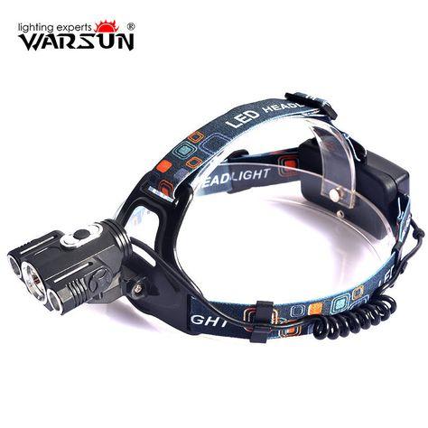 Warsun Xml T6 1600lm Headlamp 4 Modes Lanterna Led Lampe Frontale