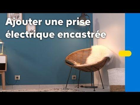 Comment Ajouter Une Prise Electrique Encastrable Castorama Youtube Prise Electrique Encastrable Electricite Maison Et Electrique