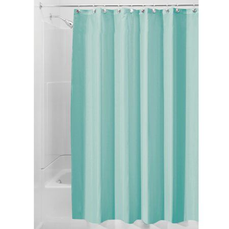 Interdesign Waterproof Fabric Shower Curtain Liner Standard 72 X
