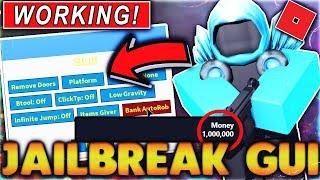 New Free Roblox Jailbreak Money Hack Op Gui With 50 - roblox how to hack jailbreak money