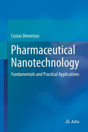 Pharmaceutical Nanotechnology   SpringerLink