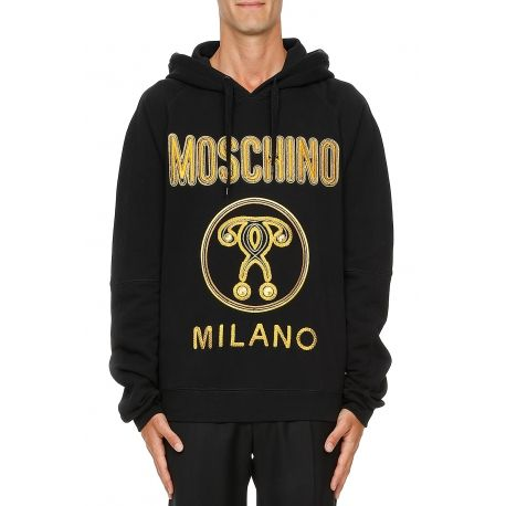hoodie moschino homme