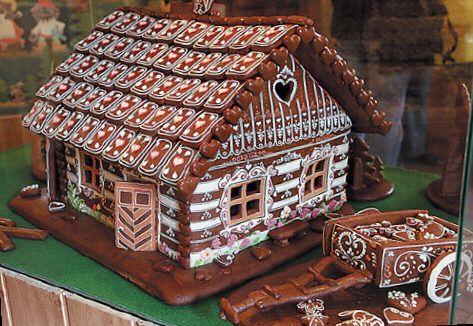 perníková chaloupka - Gingerbread house