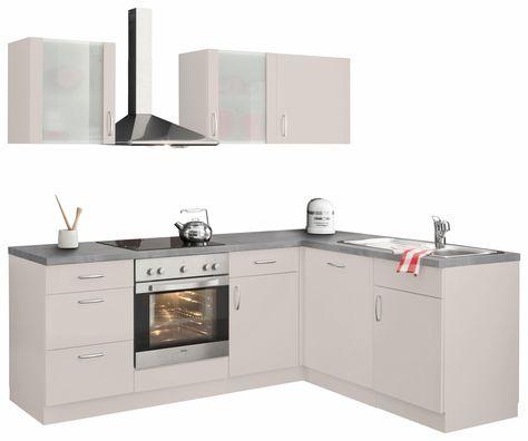 Miniküche mit Duo-Kochplattenfeld und Kühlschrank, Breite 100 cm - miniküche mit kühlschrank