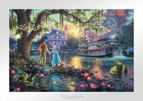 The Princess and the Frog - Limited Edition Paper - 12 x 18 / SN-Unframed