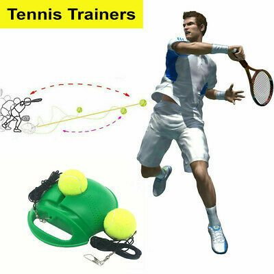 New Tennis Training Practice Trainer Swing Exercise Tool In 2020 Fun Sports Fitness Tools Tennis