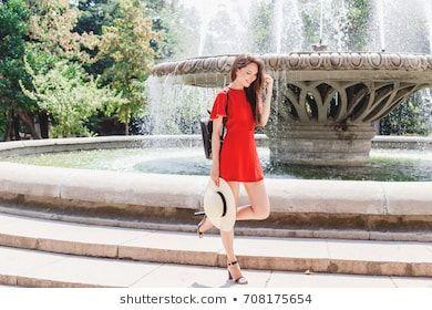Young Stylish Beautiful Young Stylish Beautiful Brunette Woman