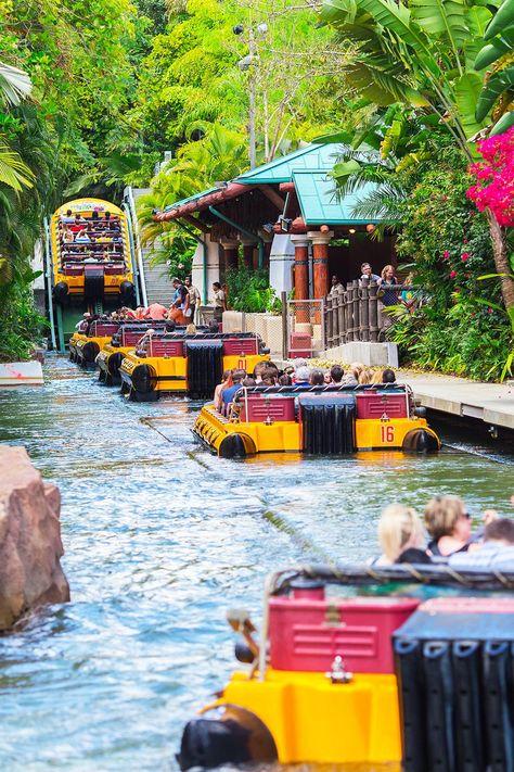 Ultimate-Things-To-Do-Orlando-Ride-The-Jurassic-Park-Ride - Travel Orlando - Ideas of Travel Orlando Orlando Florida, Kissimmee Florida, Destin Florida, Florida Beaches, Clearwater Florida, Naples Florida, Tampa Florida, Kissimmee Orlando, Cocoa Beach Florida