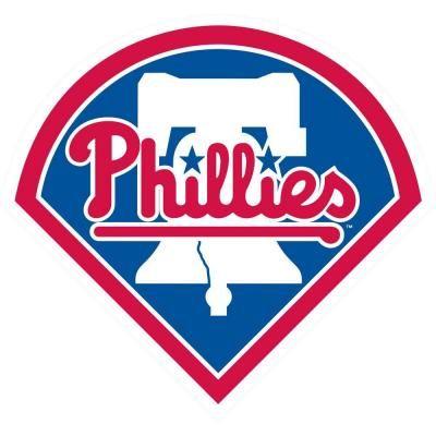 Stockdale Philadelphia Phillies SD 12 Logo MAGNET Die Cut Vinyl Auto Home Heavy Duty Baseball