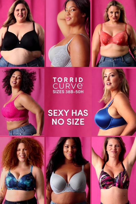 Sexy, comfy, and supportive — find your perfect bra fit. 🤩 @Torrid #ad