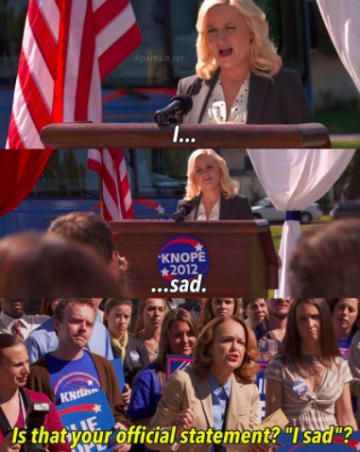 17 Completely Underrated Parks Rec Jokes Parks N Rec Parks And Recreation Really Funny