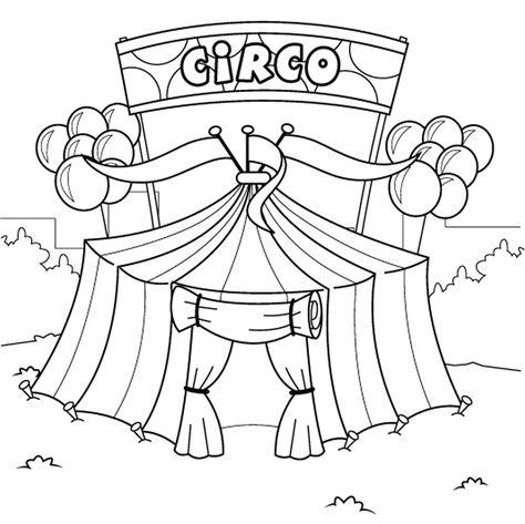 Desenhos Dia Do Circo Para Colorir 27 Marco Circo Para