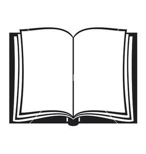 Open Book Vector Image On Clipart Preto E Branco Livro Aberto