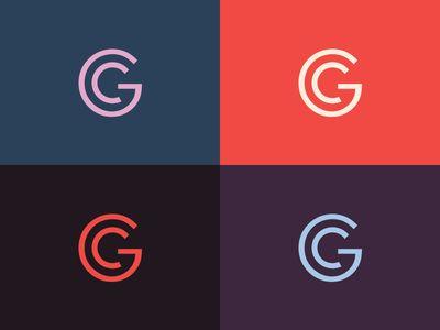 Gc Monogram Identity Design Logo Monogram Logo Design Branding Design Logo