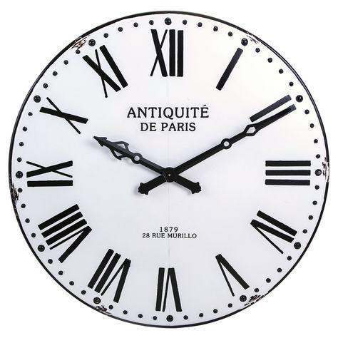 Imax Lexington Decorative 43 25 In Wall Clock 18346 Wall Clock Design Clock Extra Large Wall Clock