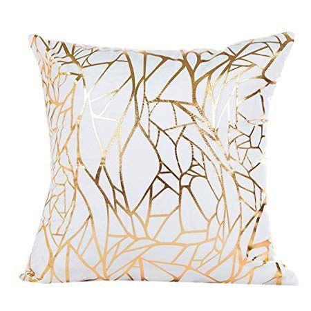 watopia gold foil printing pillowcase