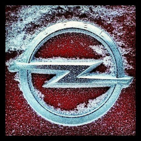 opel winter - logo - emblem - badge