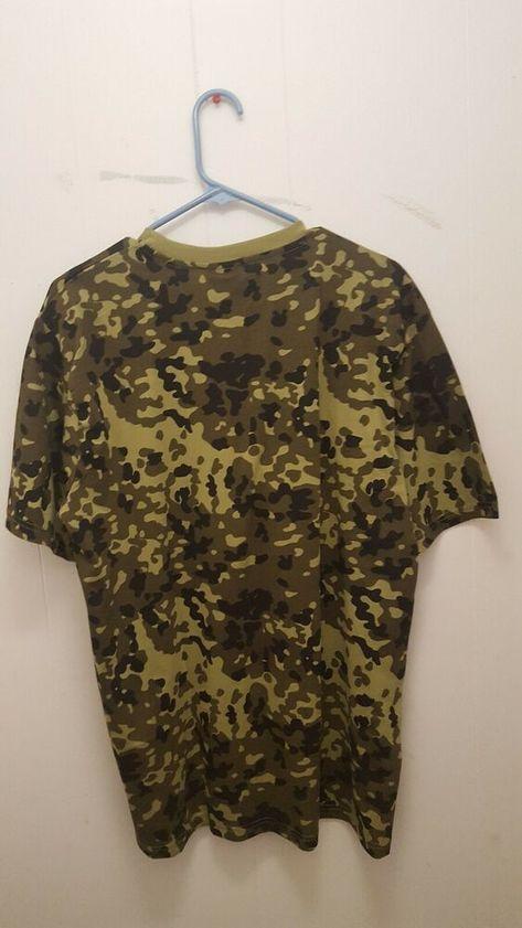 Mil-Tec Mens US Army Style T-Shirt Crew Neck Danish Camo