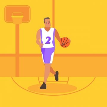 Basketball Players In 2020 Basket Funny Cartoons Balls Clothes