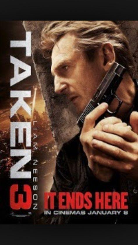 Movie Poster 2014 Taken 3 - Liam Neeson Forest Whitaker v2 NEW 24x36
