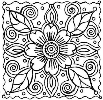 40 Ideas For Flowers Crafts For Adults Coloring Pages Abstract Coloring Pages Flower Coloring Pages Spring Coloring Pages