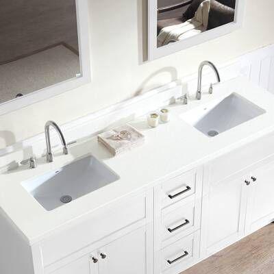 Tahoe 73 Double Bathroom Vanity Set With Mirror Double Sink